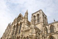 Opinión del sur de la iglesia de monasterio de York Fotografía de archivo libre de regalías