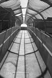 Opinión del túnel Fotografía de archivo