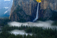 Opinión del túnel de Yosemite fotos de archivo libres de regalías