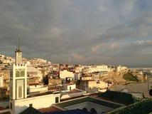 Opinión del tejado Foto de archivo libre de regalías