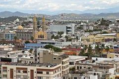 Opinión del tejado de Mazatlan Fotos de archivo libres de regalías