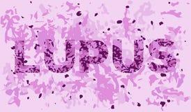 Opinión del tejido del lupus Fotografía de archivo