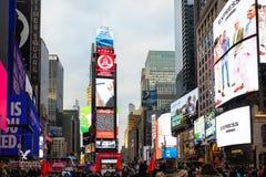 Opinión del Times Square fotografía de archivo libre de regalías
