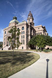 Opinión del tribunal del condado de Tarrant del edificio histórico Foto de archivo