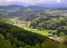 Opinión del valle Foto de archivo