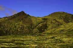 Opinión del valle de la montaña Fotografía de archivo