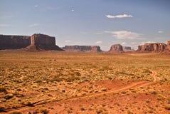 Opinión del valle del monumento Imagen de archivo