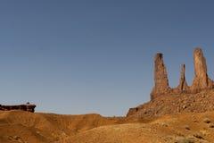 Opinión del valle del monumento fotos de archivo libres de regalías
