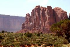Opinión del valle del monumento Fotos de archivo