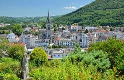 Opinión del verano de Lourdes Fotos de archivo libres de regalías