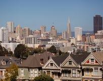 Opinión del verano de San Francisco Fotos de archivo libres de regalías