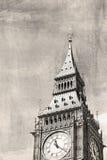 Opinión del vintage de Londres Fotos de archivo