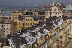 Opinión del ³ w de Kiev/de Kijà de la ciudad imagenes de archivo