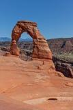 Opinión delicada del arco, arcos N P Escénico Fotos de archivo libres de regalías