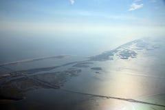 Opinión divina el Long Island Foto de archivo