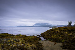 Opinión dramática de la isla Fotos de archivo