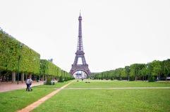 Opinión Eiffel Tower Fotografía de archivo