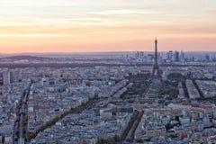Opinión Eiffel Tower Imágenes de archivo libres de regalías