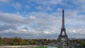 Opinión Eiffel Tower Fotos de archivo libres de regalías
