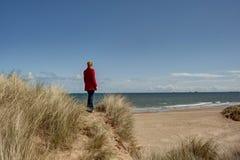 Opinión el lado de mar Foto de archivo