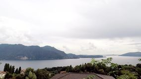 Opinión el Lago Maggiore del top almacen de metraje de vídeo