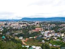 Opinión el turista popular de DaLat en Vietnam Fotografía de archivo libre de regalías