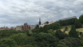opinión en tiempo real de 4K UltraHD de Edimburgo, Escocia almacen de video