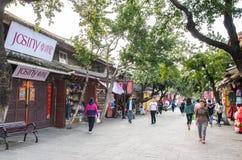 Opinión escénica Dali Old Town en Yunnan, China Es un destino turístico famoso de Asia Foto de archivo