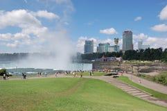 Opinión escénica de Niagara Falls Imágenes de archivo libres de regalías