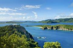Opinión escénica del Caribe de British Virgin Islands fotos de archivo libres de regalías