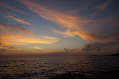 Opinión Europa de ojo de pájaros de Américas 2015 de los las de Tenerife Fotografía de archivo libre de regalías