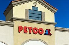Opinión exterior de la tienda de PetSmart Foto de archivo libre de regalías