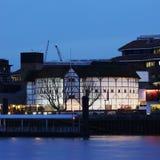 Opinión exterior GlobeTheatre de Shakespeare Fotografía de archivo