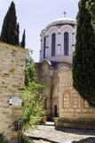 Opinión exterior Nea Moni, nuevo monasterio Quíos imagen de archivo