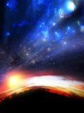 Opinión extrema del cielo Imágenes de archivo libres de regalías