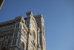 Opinión Florence Cathedral fotos de archivo libres de regalías