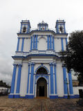 Opinión frontal Santa Lucia Church colonial Fotos de archivo