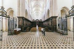 Opinión gótica de la catedral dentro Fotografía de archivo libre de regalías