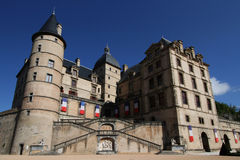 Opinión general de Chateau de Vizille Imagen de archivo libre de regalías