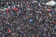 Opinión general de Maidan Fotografía de archivo