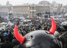 Opinión general de Maidan Imagenes de archivo