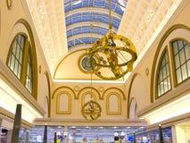 Opinión general del centro comercial Foto de archivo