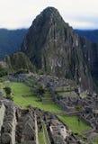 Opinión general Inca City de Machu Picchu Fotografía de archivo