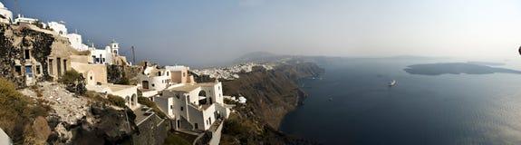 Opinión griega de las islas Imagen de archivo libre de regalías