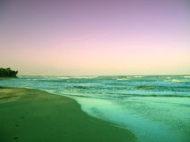 Opinión hermosa 1 del mar Imágenes de archivo libres de regalías