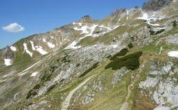 Opinión hermosa de la montaña y de la naturaleza Imágenes de archivo libres de regalías