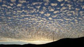 Opinión hermosa de las nubes Fotos de archivo libres de regalías