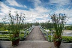 Opinión hermosa del balcón Fotos de archivo libres de regalías
