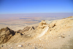 Opinión hermosa del desierto Fotos de archivo libres de regalías