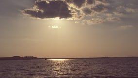 Opinión hermosa del lago Imagenes de archivo